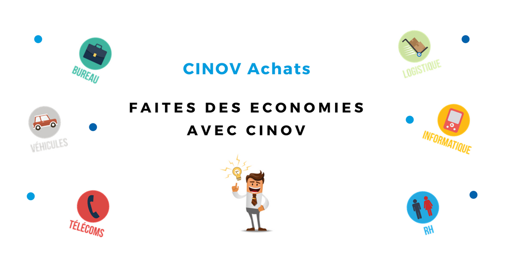 CINOV Achats, un nouveau service exclusif pour les adhérents CINOV